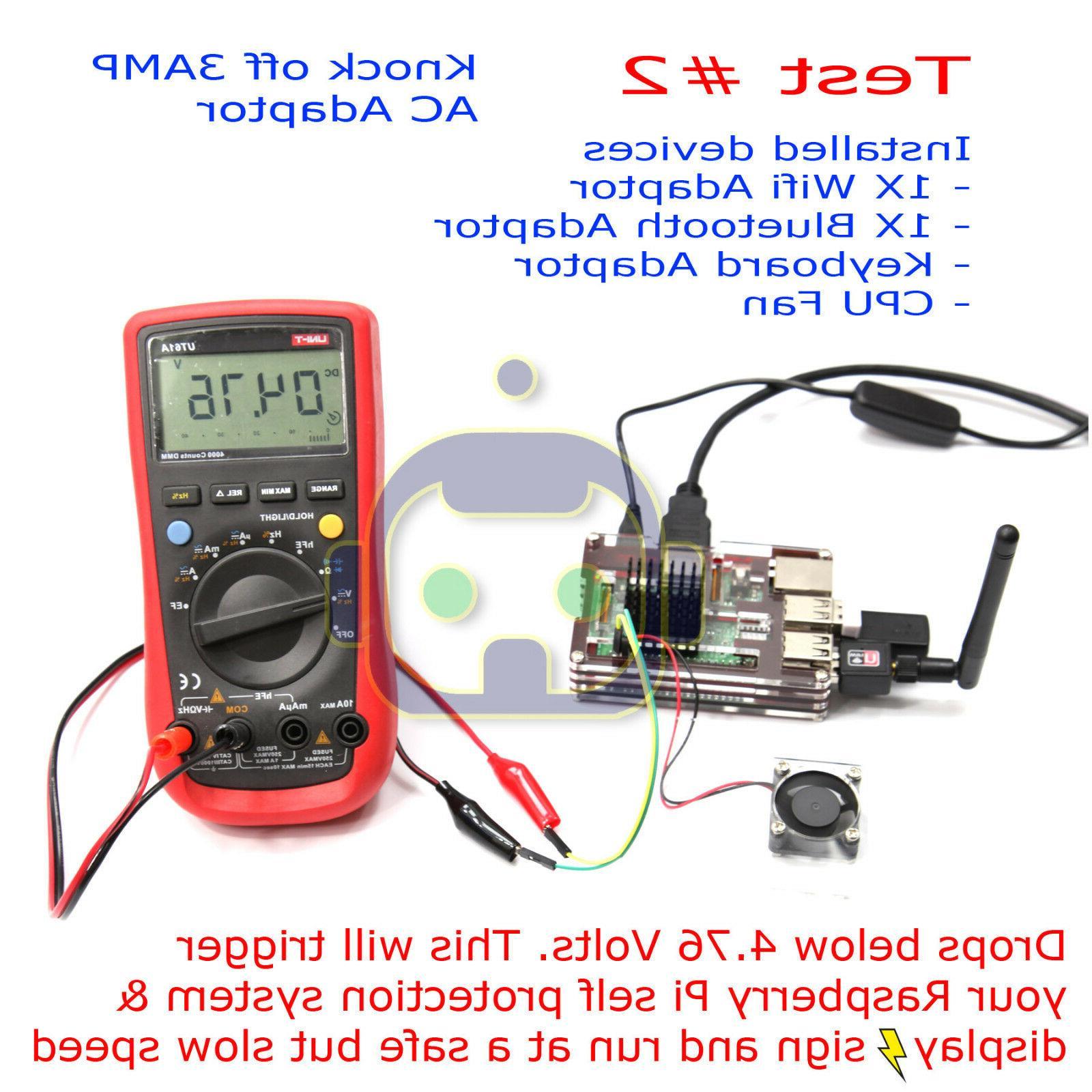 Raspberry Pi 3 3B Power 5V 3A Adapter