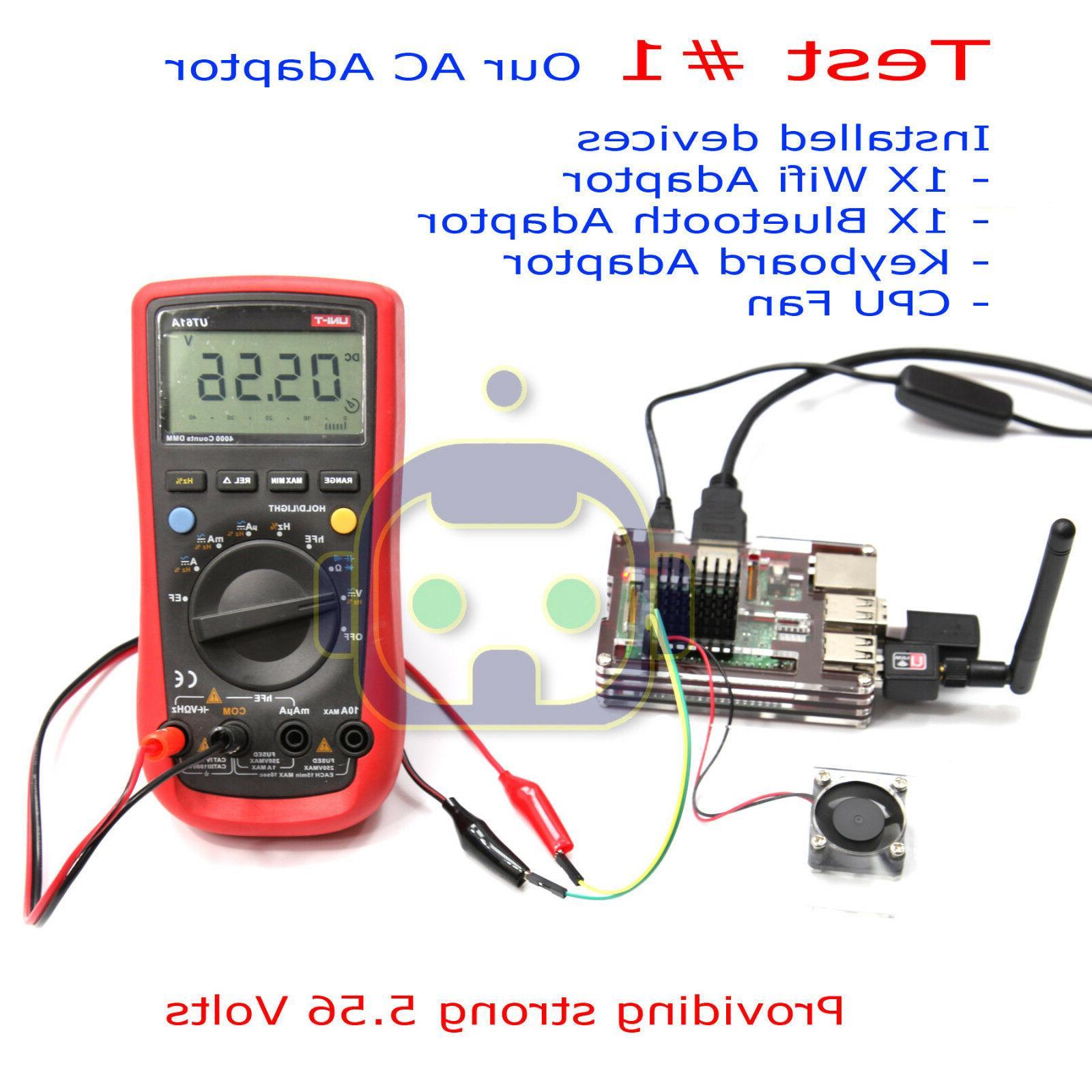 Raspberry Pi 3 Power 5V 3A 3000mA USB Adapter