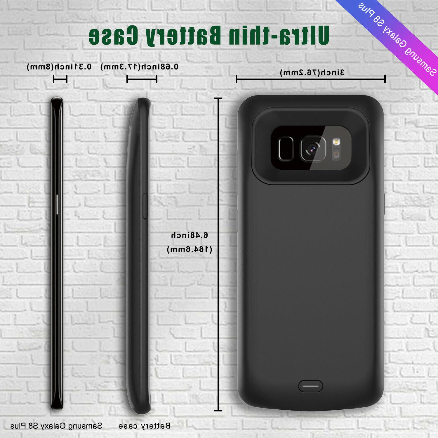 For Samsung Galaxy S8 / Plus Battery Case External Power 3.0