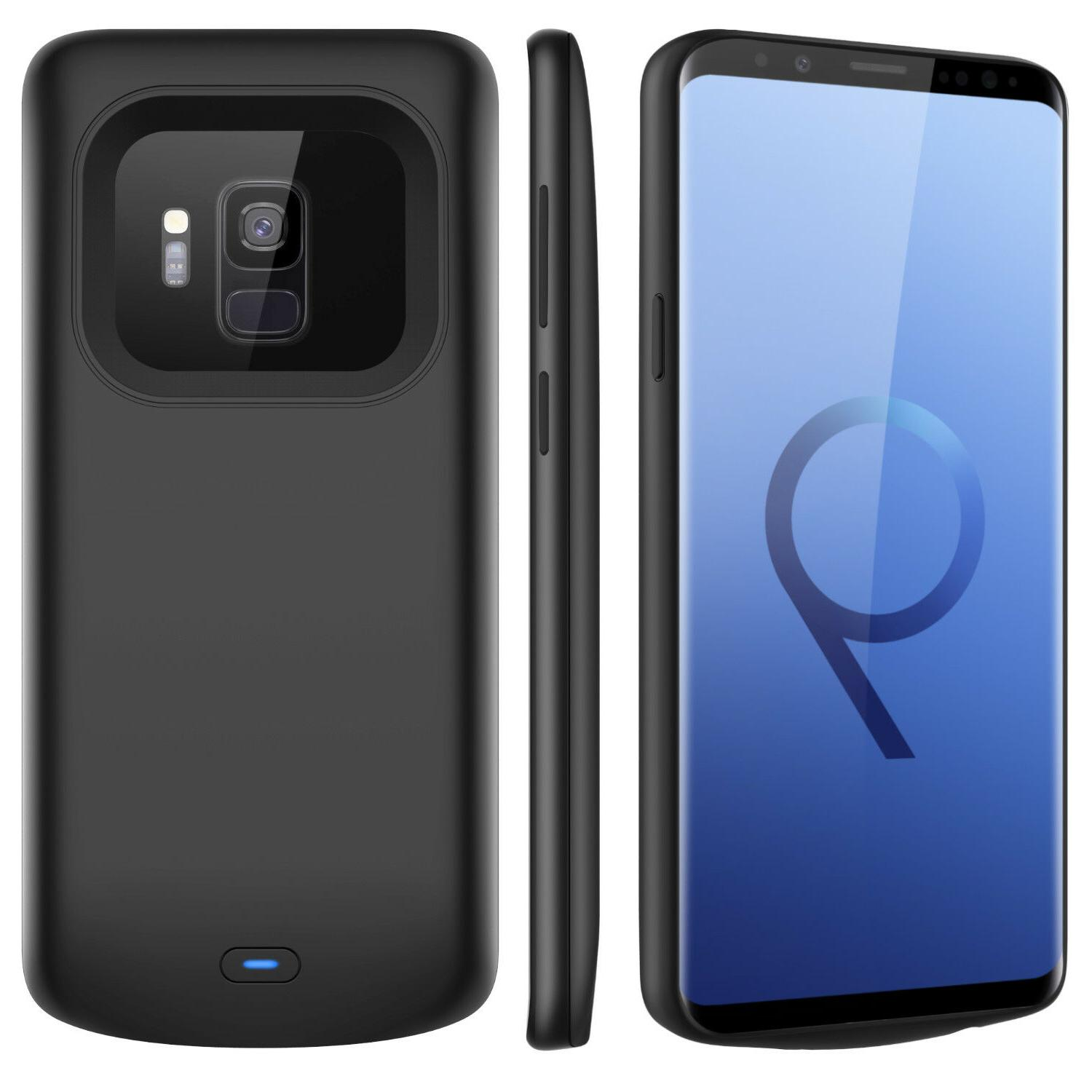 For Galaxy S9/ S9+ Case Bank+QC Adapter
