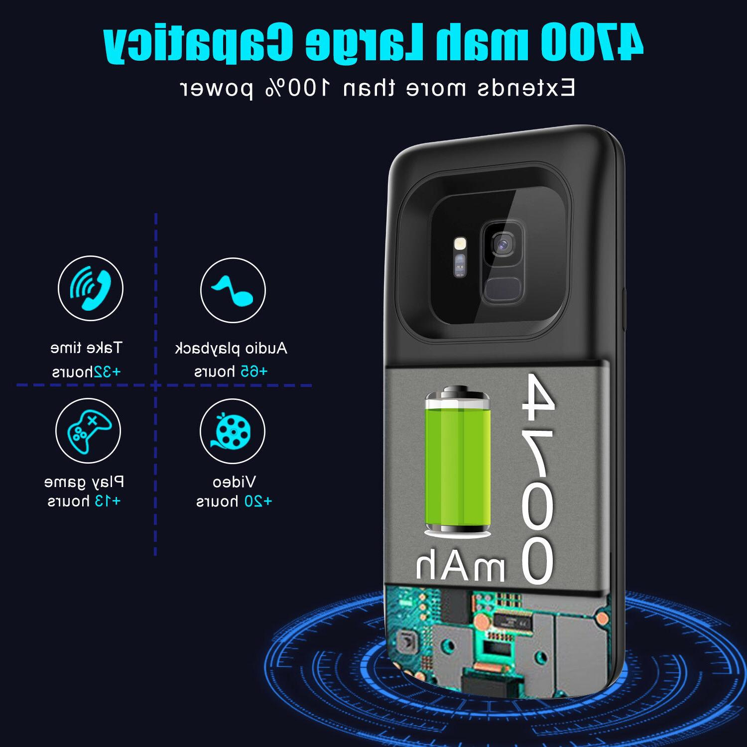 For Samsung Galaxy S9/ S9+ Plus Case Power Adapter