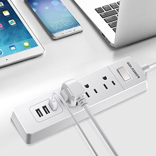 Poweradd Protector USB Power Smart - White