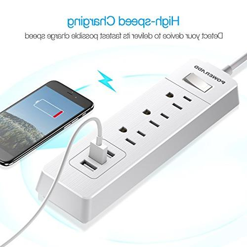 Poweradd Surge Power 3 Smart and 5ft Heavy -