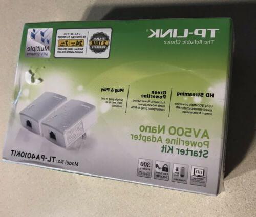 tp link av500 nano powerline adapter starter