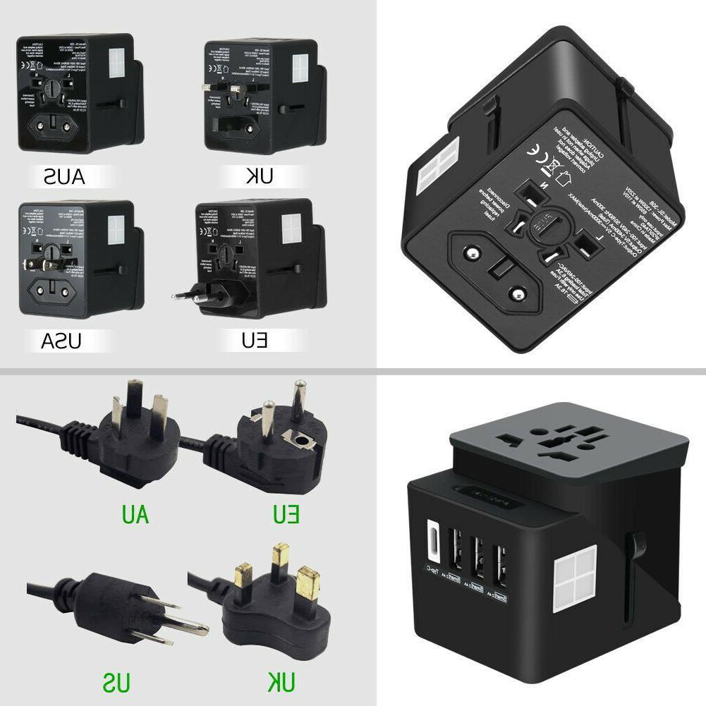 Travel Power European Outlet Plug EU US to EU
