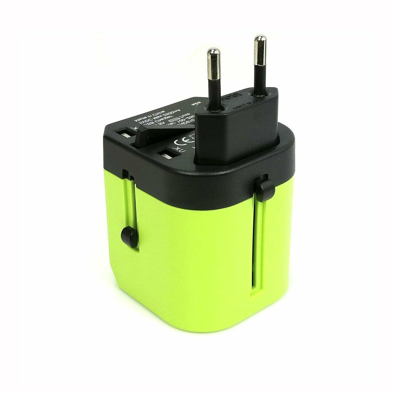 Travel Plug Adapter European Outlet EU EU