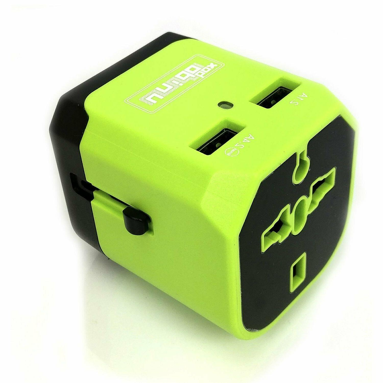 Travel Adapter Outlet Universal EU to US to EU