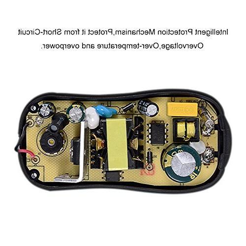 Travel Adapter, 24W UK, HK, Plugs DC Tips for UK -