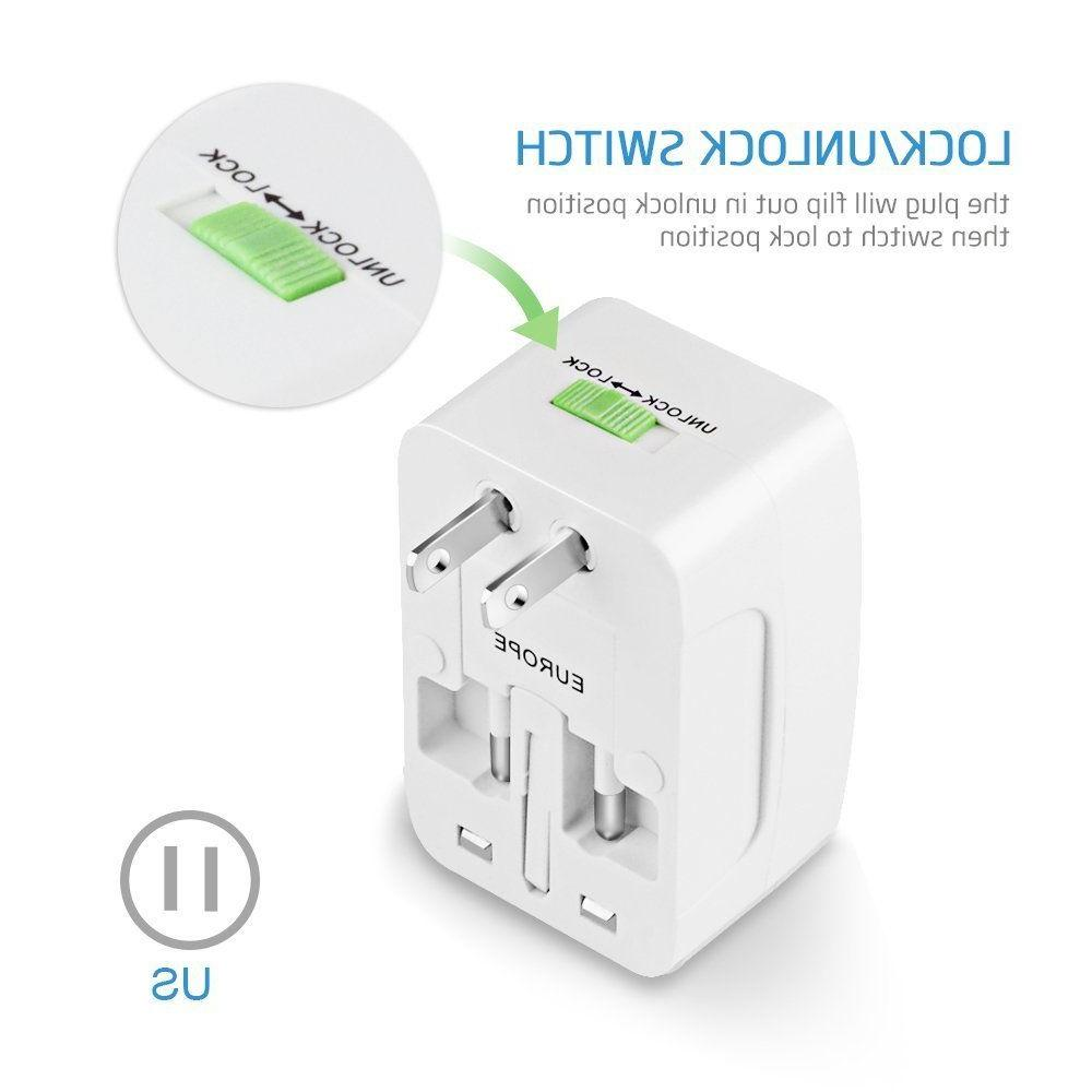 Universal Power Adapter Wall Socket