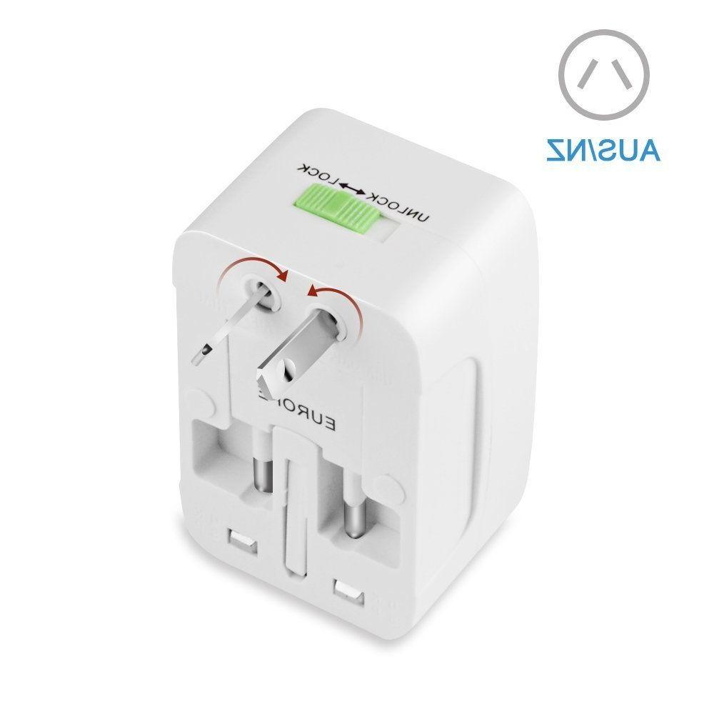 Universal In Power Adapter Wall Charger Socket Travel Plug Converter