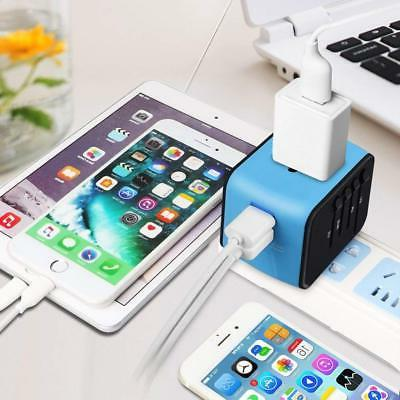 Universal Adapter, All-in-one International Power with