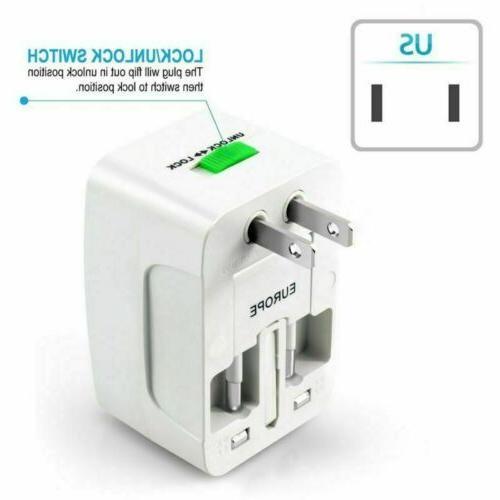 Universal Travel Converter Power Socket EU Europe