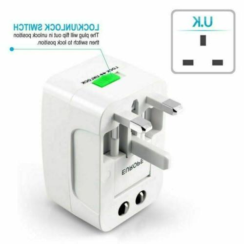 Universal Travel Converter Power Socket US Europe
