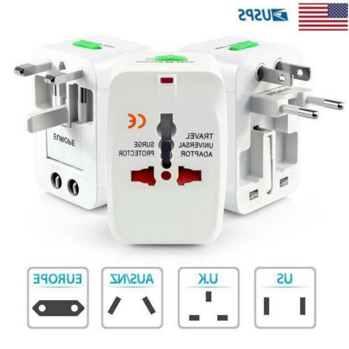 universal travel adapter charger converter ac power