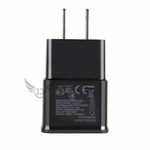 US 5-50 USB Adapter AC Home Samsung Edge +