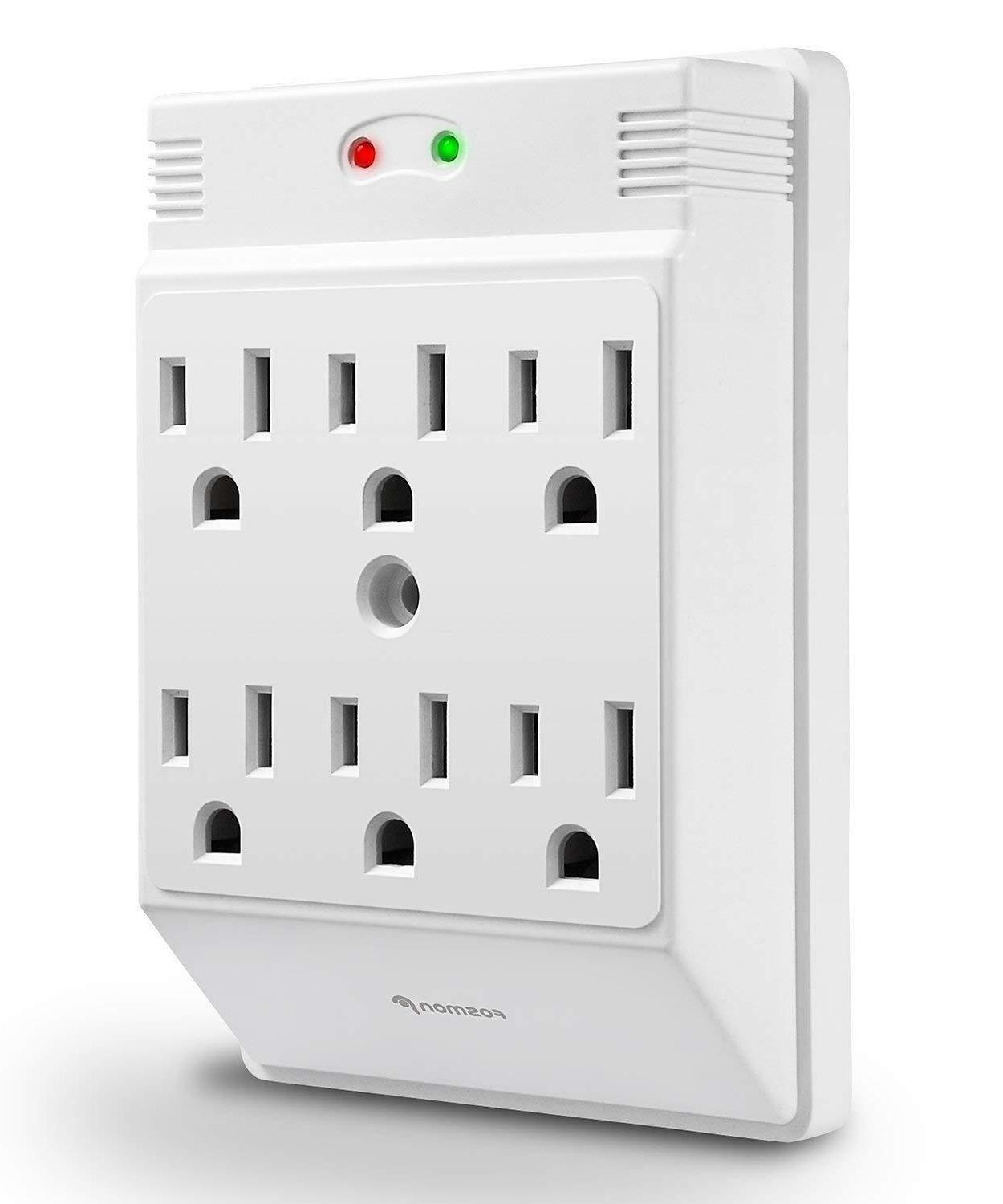 Wall Tap Adapter Power Surge Protector Outlets Outlets