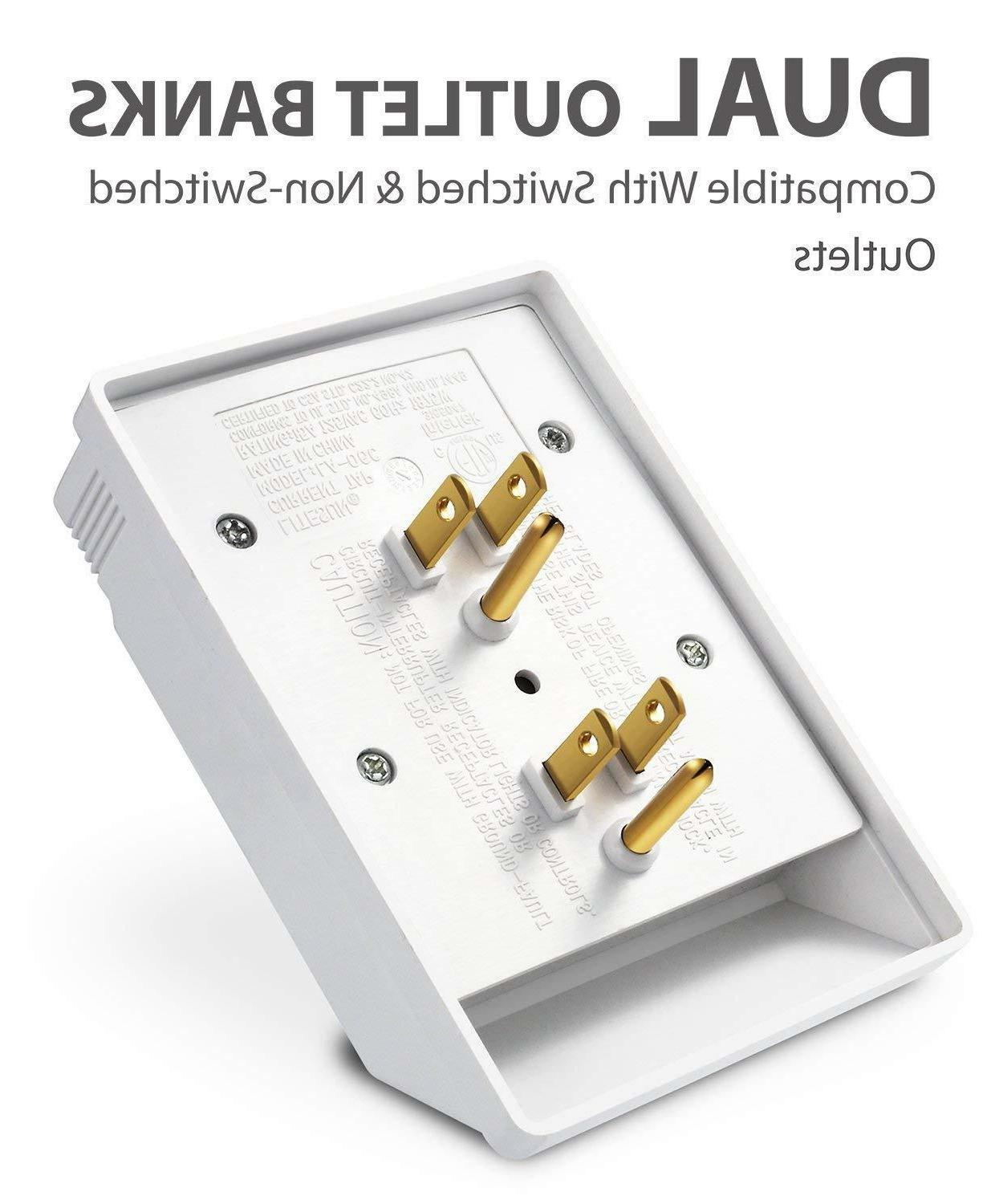 Wall Adapter Power Surge Protector Outlets