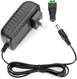 Le Power Adapter, 2A, Ac 100-240V To Dc 12V Transformer, 24W
