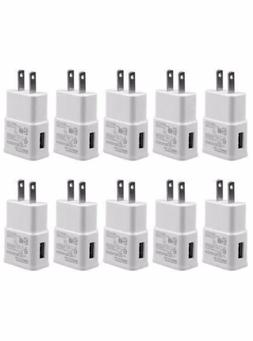 Lot 2A USB Power Adapter AC Home Wall Charger US Plug For Sa