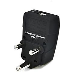 Ceptics Type M 2 USB S Africa Travel Adapter 4 in 1 Power Pl
