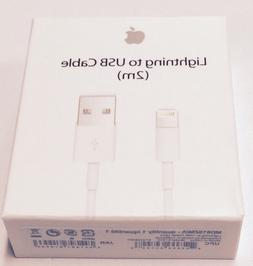 Apple MD819ZM/A 2 Meter Lightning to USB Cable