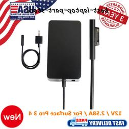 For Microsoft Surface Pro 4 3 Power Supply 1625 adapter 12V