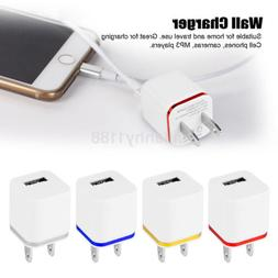 Mini 1A USB Home Wall Power Charger Adapter US Plug for iPho