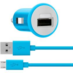 Belkin MIXIT Car Charger + Micro USB Cable 4 Feet