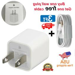 OEM Authentic 5W USB Power Adapter Charger Wall Plug for Pho
