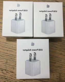 OEM Authentic Apple 5W USB Power Adapter Charger Wall Plug C