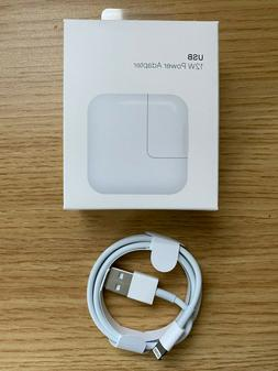 Original 12W USB Power Adapter Charger for Apple 8 7 X iPad