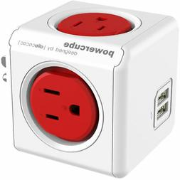 original usb 4 outlet power adapter