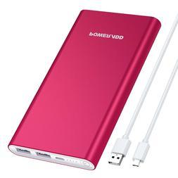 Pilot 2GS 10000mAh Power Bank Aluminum Case Fast Phone Batte