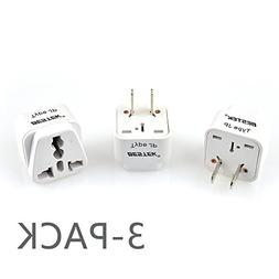 Plug Adapter, BESTEK Universal Travel Adapter Plug Converter