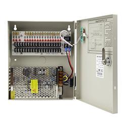 Xenocam 18 Channel Port 12V DC 10 Amp Amper with PTC Fuse Di