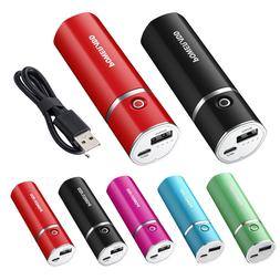 Poweradd 5000mAh Portable Power Bank USB External Battery Ch
