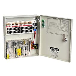 Lapetus 18 Channel Output 12V DC 10A Auto Reset Fuse Distrib