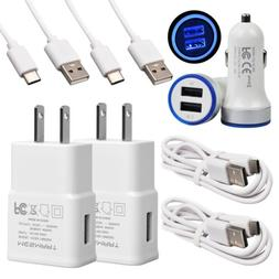Power For Samsung Galaxy S10 S9 A20 A11 Fast Wall&Car Charge
