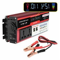 Power Inverter 6000W Peak DC 12V to 110V AC Converter Adapte