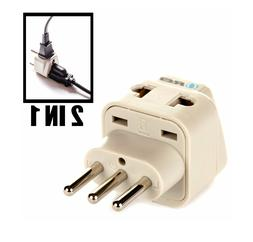OREI power plug adapter type L