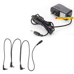 Antoble Power Supply Adapter For Guitar Effect Pedals 9V 1A