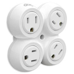 360 Electrical RevolveBasic 4-Outlet Rotating Power Adapter
