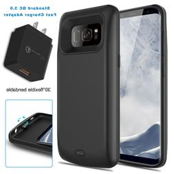 For Samsung Galaxy S8 / S8+ Plus Battery Case External Power