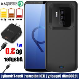For Samsung Galaxy S9 S9+ Plus Battery Case Charging Power B