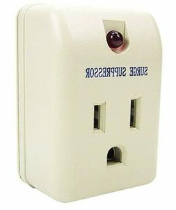 Single Outlet Surge Protector With Power Suppressor 180 Joul