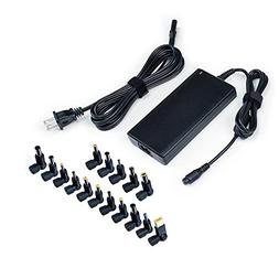 90w Slim Universal Laptop Charger Ac Adapter Power Cord for