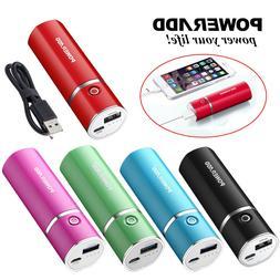 Poweradd Slim 2 5000mAh Power Bank USB External Battery Port