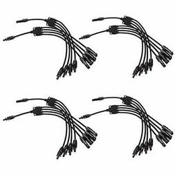 Solar & Wind Power Parts Accessories 4 Pairs Y Branch MC4 Pa
