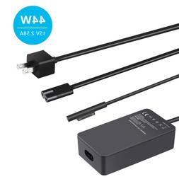 Surface Pro 5 / 6 Power Adapter Charger 44W 15V 2.58A Model