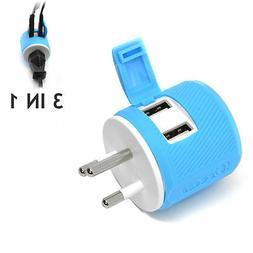Orei U2U-18 OREI Thailand Travel Plug Adapter - Dual USB - S